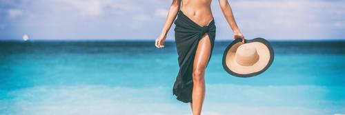 travel woman banner. skin care leg laser epilation hair removal sexy legs woman-img-blog